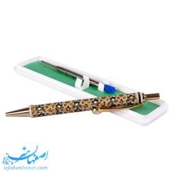 خودکار خاتم کاری نگین دار