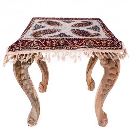 رومیزی سنتی مربعی 40 سانتیمتری اصفهان هنر