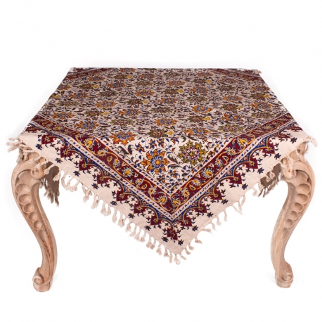 جدیدترین پارچه های رومیزی قلمکار اصفهان هنر