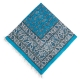 رومیزی قلمکار زمینه آبی 150 سانتیمتری ممتاز