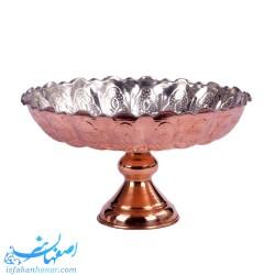 میوه خوری سنتی مسی قطر 27 سانتیمتر
