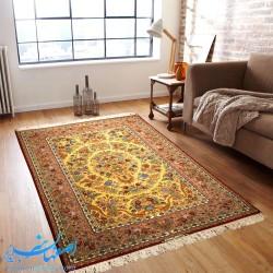 قالیچه دستباف صادراتی ابعاد 229×145 سانتیمتر